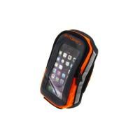 FITLETIC Brassard pour téléphone Fitletic Forte - Noir / Orange