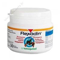 FLEXADIN Boîte de 30 comprimés arthrose Vetoquinol - Pour chien et chat