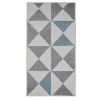 FORSA Tapis de couloir en polypropylene - 60 x 110 cm - Bleu
