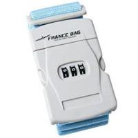 FRANCE BAG Sangle de Bagages a Code Bleu ou Rose