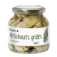 FRANPRIX Artichauts Grillés 280 g