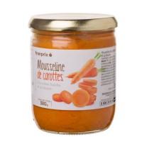 FRANPRIX Mousseline de carottes a la creme fraiche et au beurre - 380 g