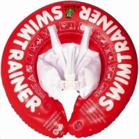 Freds Swim Academy Bouée bébé Swimtrainer Rouge 3 mois a 4 ans