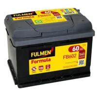 FULMEN Batterie auto FORMULA FB602 (+ droite) 12V 60AH 540A