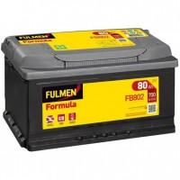 FULMEN Batterie auto FORMULA FB802 (+ droite) 12V 80AH 700A