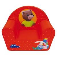 Fun House Petit Ours Brun fauteuil club en mousse pour enfant