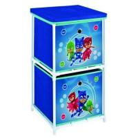 Fun House Pyjamasques etageres 2 casiers pour enfant
