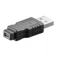 USB ADAP A-M/MINI-B 5 broches-F