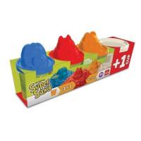 Goliath - Super Sand 3 pots + 1 gratuit - Loisir créatif - Sable a modeler