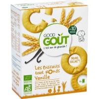 GOOD GOUT Biscuits tout ronds Vanille Bio - Des 10 mois