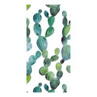 GOOD MORNING Serviette de plage Cactus - 100 x 180 cm