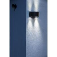 GALIX Applique murale solaire G9 moderne et tres éclairante - 50 lumens