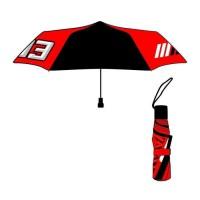 GP MOTORS Parapluie Pliable Marc Marquez MM93 - Noir et Rouge