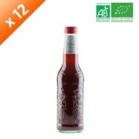 GALVANINA Bouteille de boisson gazeuse - Cola - 355 ml x12 - Bio