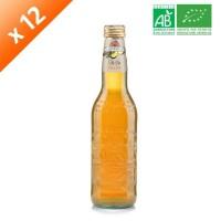 GALVANINA Cartons de 12 bouteilles de Thé a la Peche - 355 ml x12 - Bio