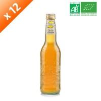 GALVANINA Cartons de 12 bouteilles de Thé au Citron - 355ml - Bio