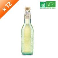 GALVANINA Cartons de 12 bouteilles de Thé Blanc - 355 ml x12 - Bio