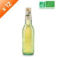 GALVANINA Cartons de 12 bouteilles de Thé Vert - 355 ml x12 - Bio