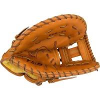 Gant de baseball droitier - Mixte - Marron