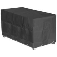 GREEN CLUB Housse de protection pour table de jardin 180x90x65cm - Anthracite