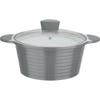 GSW Marmite revetement en céramique Greblon a induction Bolero Grey - 28 cm
