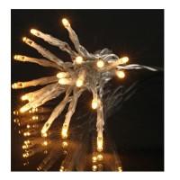 Guirlande de Noël 1000 LEDS - 8 fonctions - Fil transparent transfo 50 m - Multicolore
