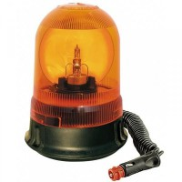 Gyrophare Astral Base magnétique et Ventouse 12 V - Orange