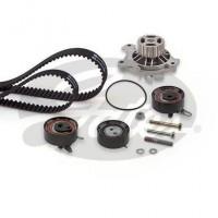 GATES Kit distribution + Pompe a eau KP55323XS-1