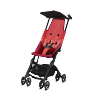 GB Poussette Gold Pockit Air All Terrain Rose - Rouge