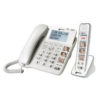 GEEMARC Téléphone filaire AMPLIDECT COMBI-PHOTO 295 + PhotoDECT 295
