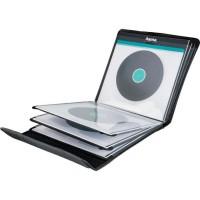 HAMA 00181440 Pochettes pour 12 disques 33 tours - Noir