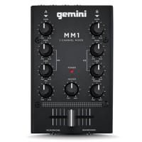 GEMINI MM1 MINI MIXER Platine DJ 2 voies