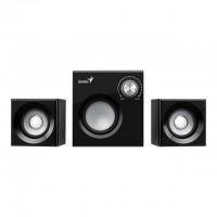GENIUS Haut parleurs HP SP HF 160 - USB - 8 Watts - Noir - PC / Mac / Smartphone / Tablette / Lecteur MP3 et CD