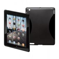 CASE for iPad 2/3 (BackCover TPU) NOIR