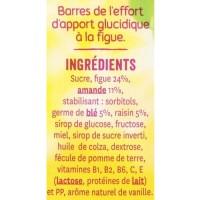 GERBLE Barres de l'effort, d'apport glucidique, a la figue - 150 g