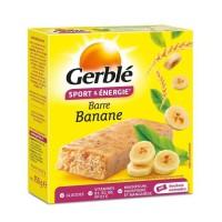 GERBLE Barres substitut de repas a la banane - 150 g