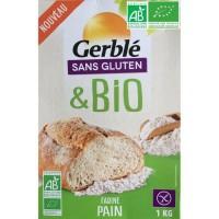 GERBLE Farine pain Bio sans gluten - 1 kg