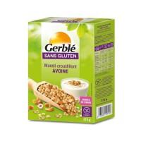 GERBLE Muesli croustillant a l'avoine sans gluten - 375 g
