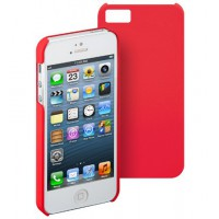 CASE pour iPhone 5(Back Cover)Sand ROUGE