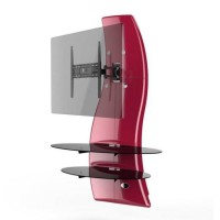 GHOST DESIGN 2000 ROTATION Meuble TV support Rouge