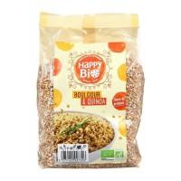 HAPPY BIO Boulgour & quinoa bio - 500 g