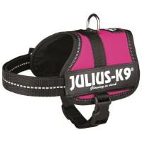 Harnais Power Julius-K9 - Baby 2 - XS-S : 33-45 cm-18 mm - Fuchsia - Pour chien