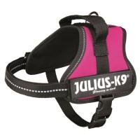 Harnais Power Julius-K9 - Mini-Mini - S : 40-53 cm-22 mm - Fuchsia - Pour chien