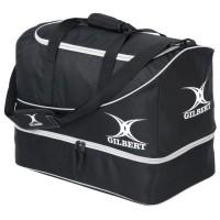 GILBERT Sac de rugby CLUB V2 - Fond dur - H:42cm x L:56cm x P:34cm - Noir