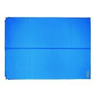 HIGHLANDER Tapis Double Base Auto-gonflant Bleu