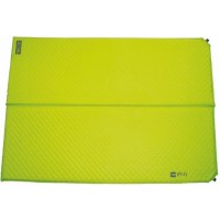 HIGHLANDER Tapis Trail double Auto-gonflant Vert