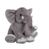 GIPSY Eléphant Assis 50 cm