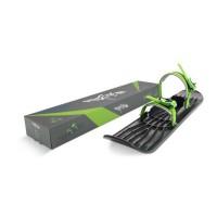 GIZMO RIDERS Luge ski OneFoot - Enfant - Noir et vert