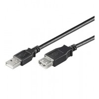USB Verl AA 030 HiSpeed NOIR 0.3m