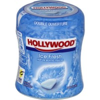 Hollywood Icefresh Bottle chewing-gum menthe fraîche sans sucres 60 dragées